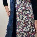 پارچه کودری گلدار و ساده